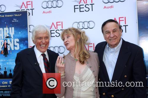 Dick Van Dyke, Karen Dotrice and Richard M Sherman