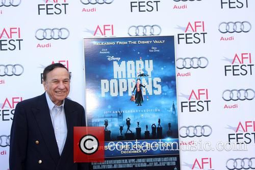 Mary Poppins and Richard M Sherman 5