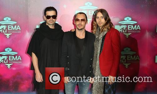 Jared Leto and 30 Seconds To Mars 2