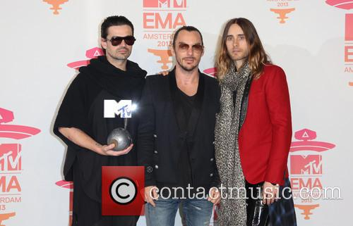 Jared Leto and 30 Seconds To Mars 4
