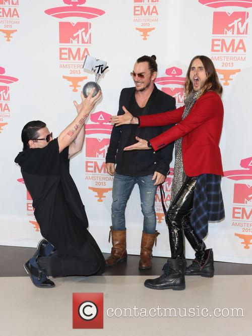Jared Leto and 30 Seconds To Mars 1