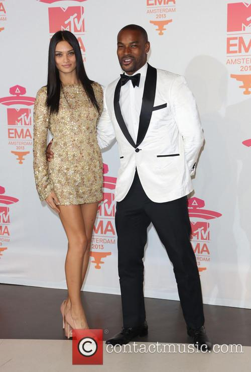 Tyson Beckford and Shanina Shaik 2