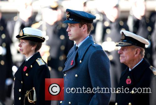 princess anne prince william the duke of cambridge the 3945722
