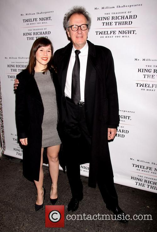 Yael Stone and Geoffrey Rush 3