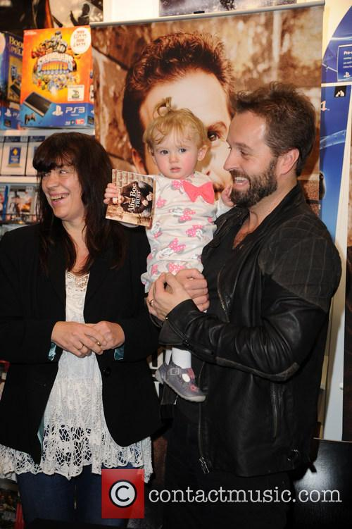Alfie Boe, Amelia Faith and Amelia's Grandma Debbie 3