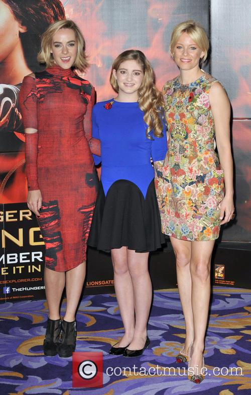 Jena Malone, Elizabeth Banks and Willow Shields 10