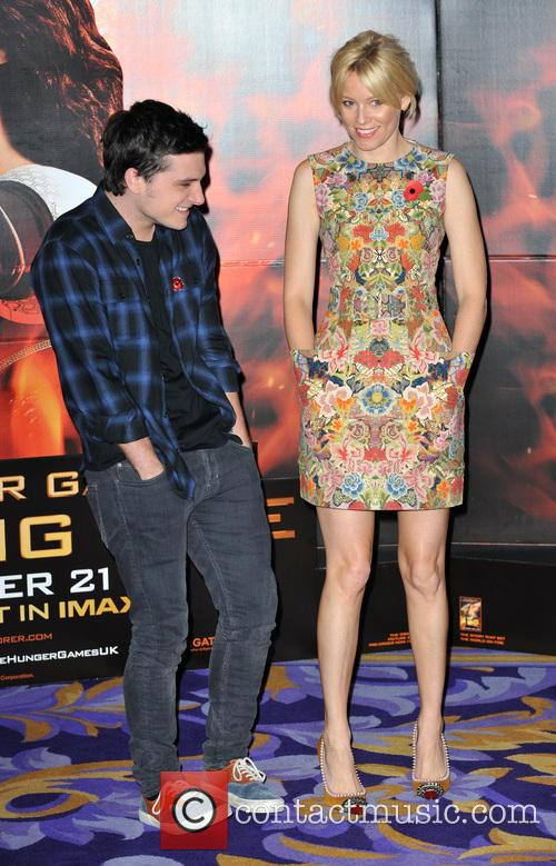 Josh Hutcherson and Elizabeth Banks 3