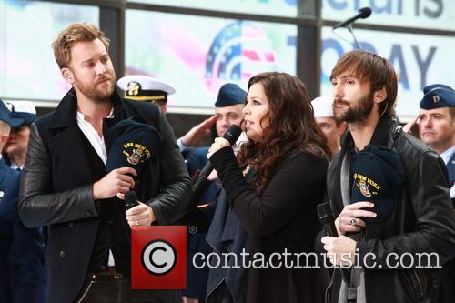 Lady Antebellum Performs at NBC on Veterans Day