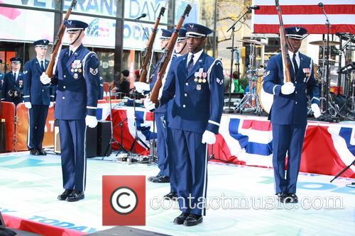 Veterans at NBC Vetrans Day Concert