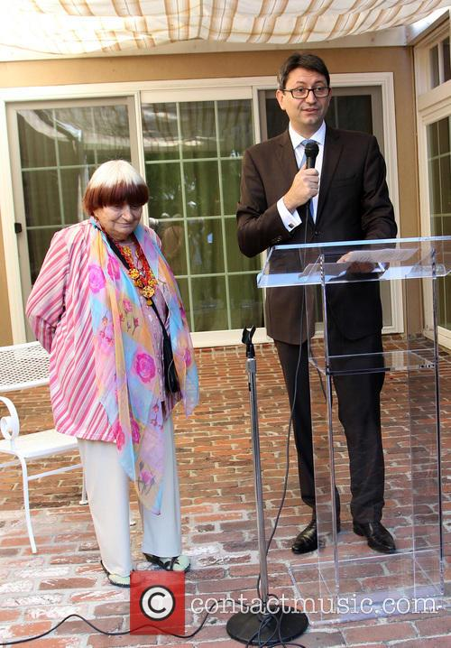 Agnes Varda and Consul General Of France M. Axel Cruau 7