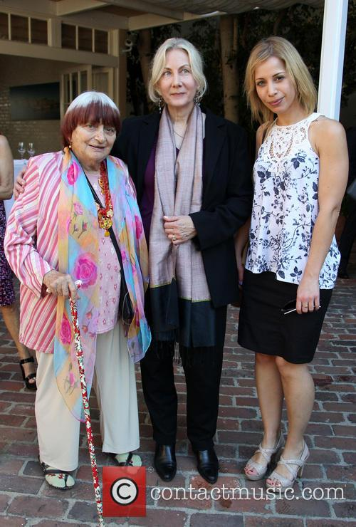 Agnes Varda, Shirley Moirin and Guest 2