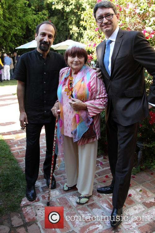 Asghar Farhadi, Agnes Varda and Consul General Of France M. Axel Cruau 6