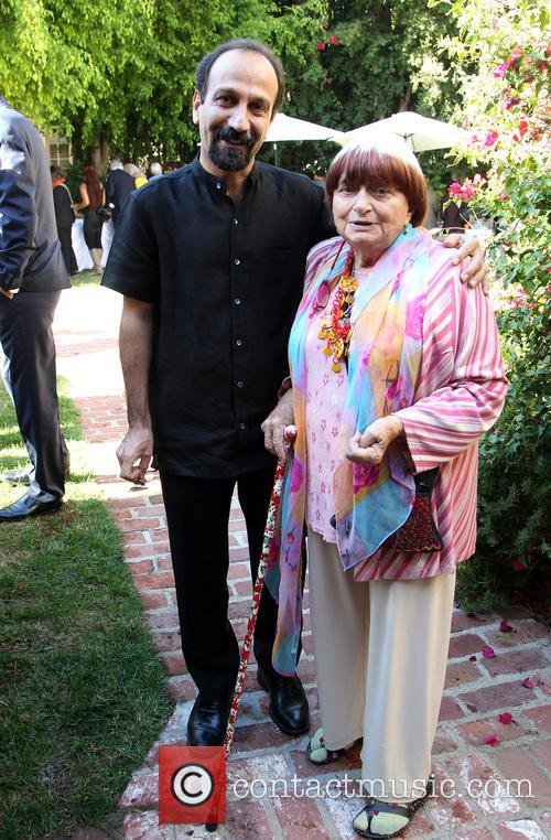 Asghar Farhadi and Agnes Varda 2