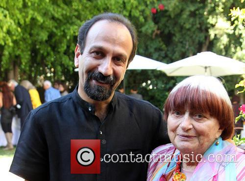 Asghar Farhadi and Agnes Varda 3