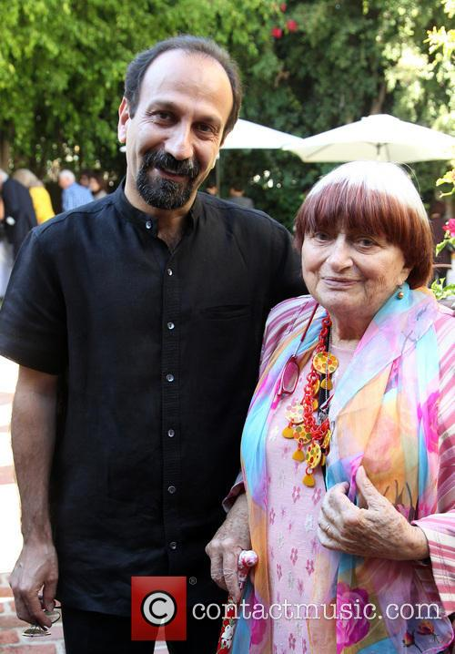 Asghar Farhadi and Agnes Varda 5