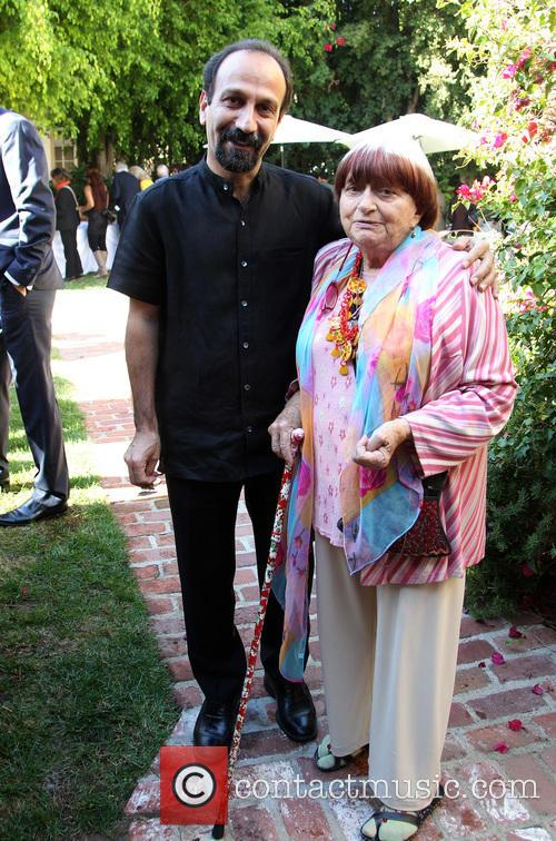 Asghar Farhadi and Agnes Varda 1