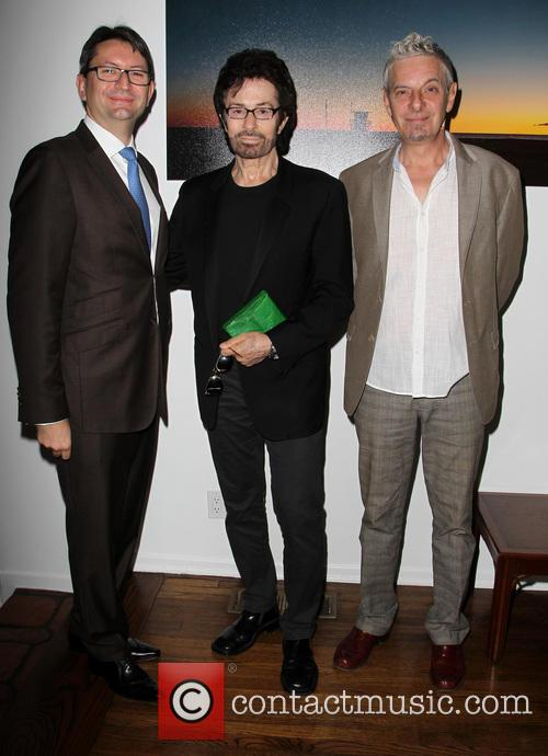 Consul General Of France M. Axel Cruau, George Chakiris and Guest 4