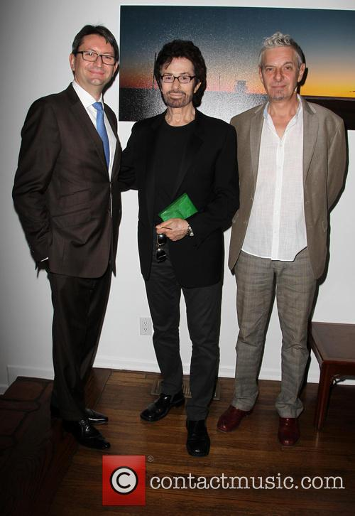 Consul General Of France M. Axel Cruau, George Chakiris and Guest 8