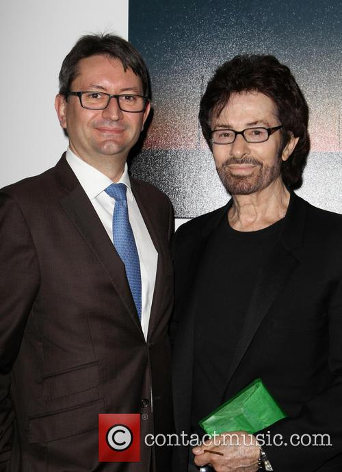 Consul General of France M. Axel Cruau and George Chakiris 3