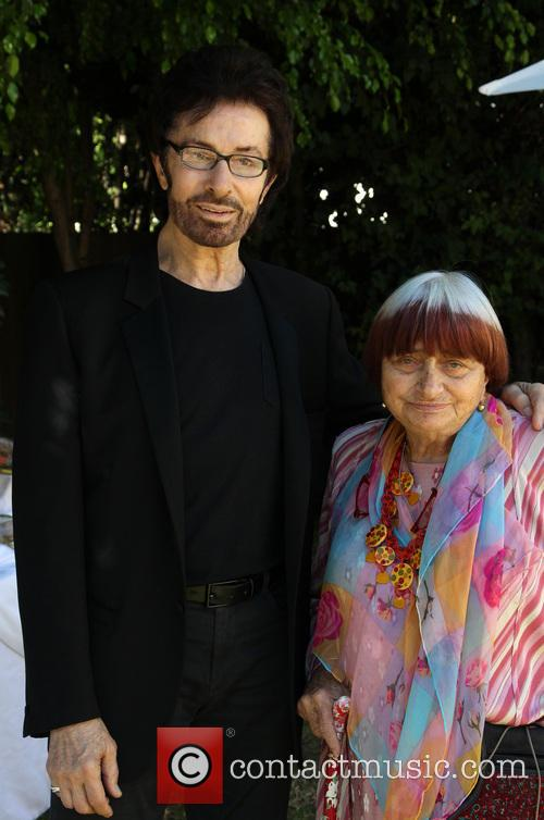George Chakiris and Agnes Varda 5