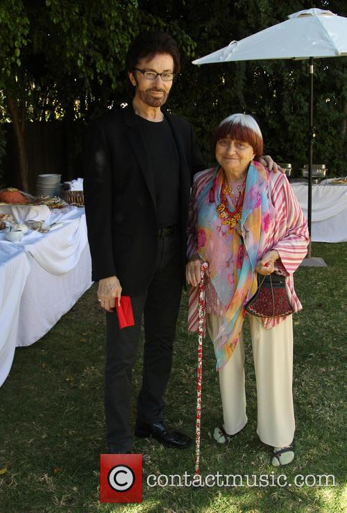 George Chakiris and Agnes Varda 11