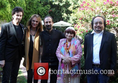 George Chakiris, Jacqueline Bisset, Asghar Farhadi, Agnes Varda and Rithy Panh 7