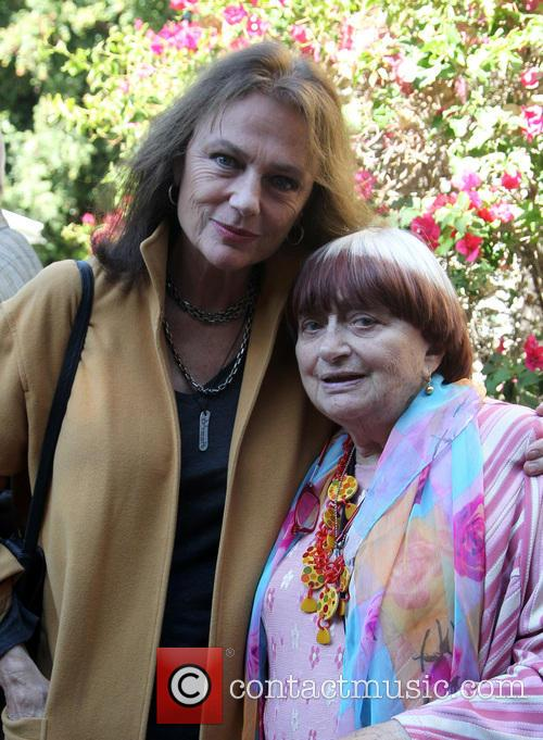 Jacqueline Bisset and Agnes Varda 1