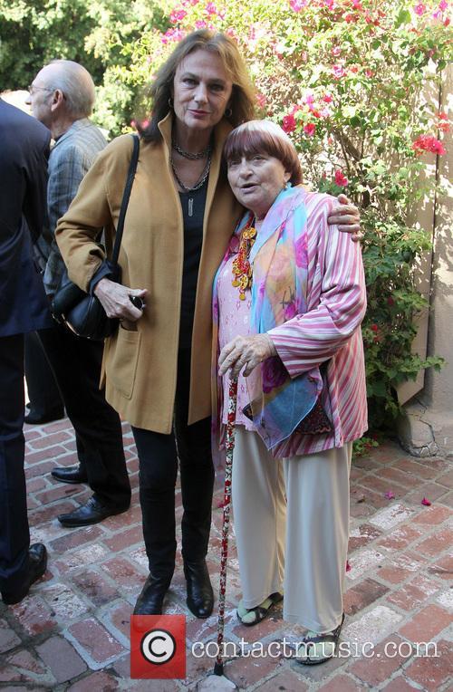 Jacqueline Bisset and Agnes Varda 2