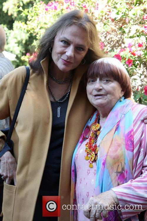 Jacqueline Bisset and Agnes Varda 3