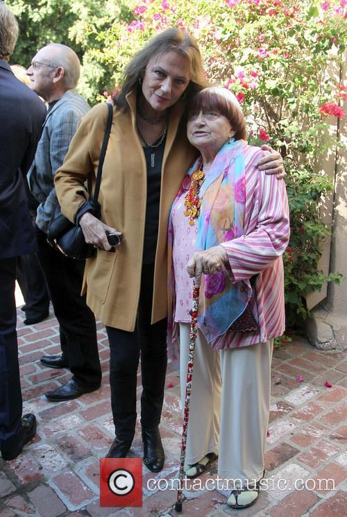 Jacqueline Bisset and Agnes Varda 4