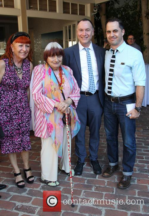 Marie France, Agnes Varda and Guests 4