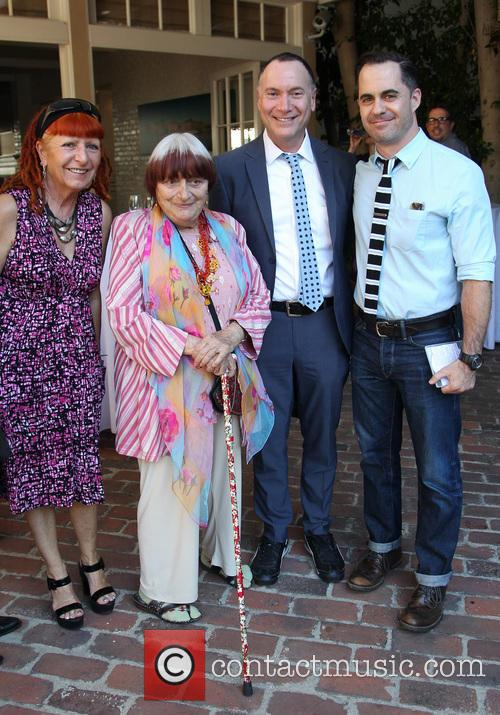 Marie France, Agnes Varda and Guests 5