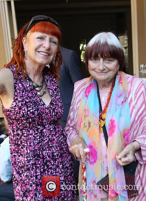 Marie France and Agnes Varda 2