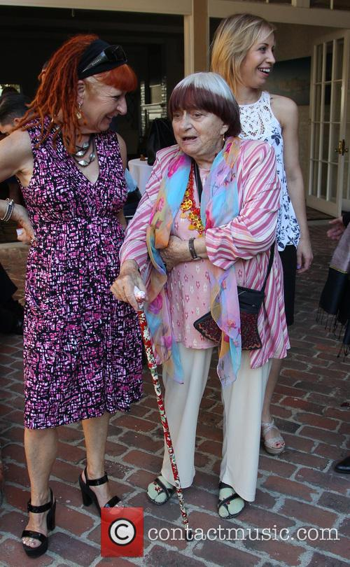 Marie France and Agnes Varda 3