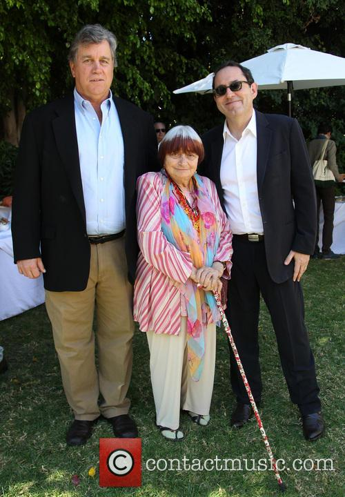 Tom Bernard, Agnes Varda and Michael Barker 1