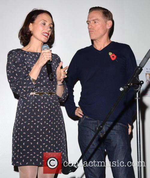 Caroline Frogatt and Bryan Adams 2
