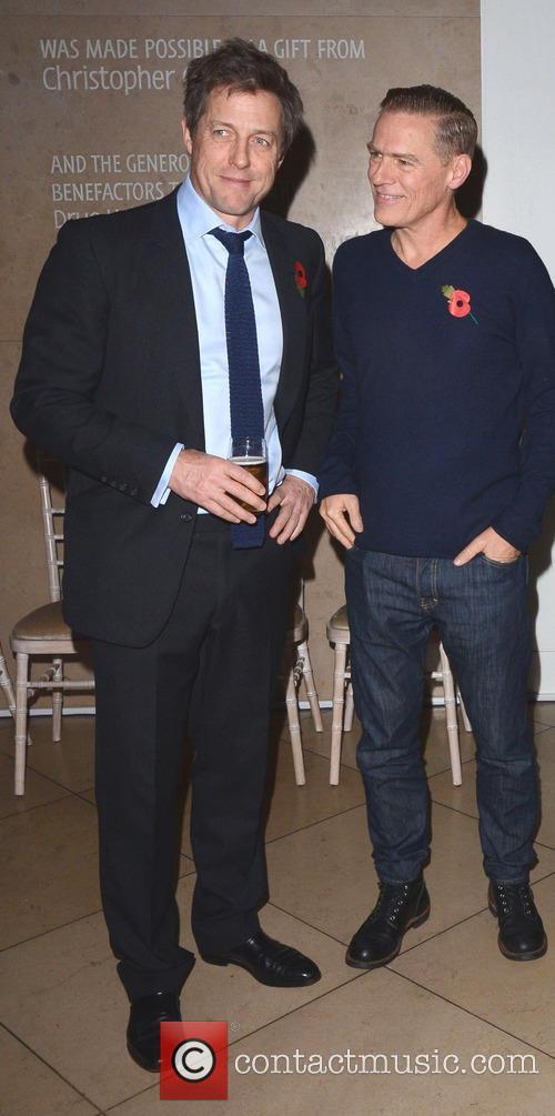 Hugh Grant and Bryan Adams 2