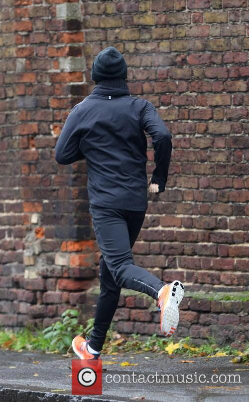 EXCLUSIVE Harry Styles goes running