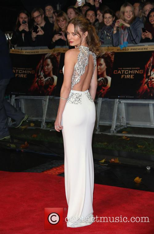 laura haddock the hunger games catching fire 3948375