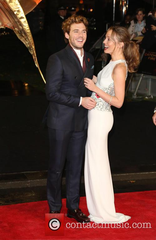 Sam Claflin and Laura Haddock 4
