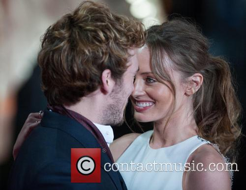 Laura Haddock and Sam Claflin 6