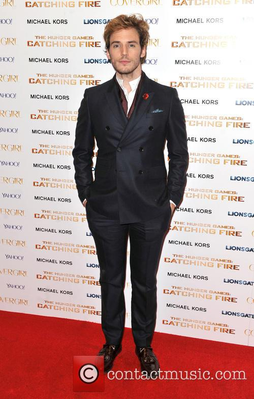 sam claflin world premiere of the hunger 3949010