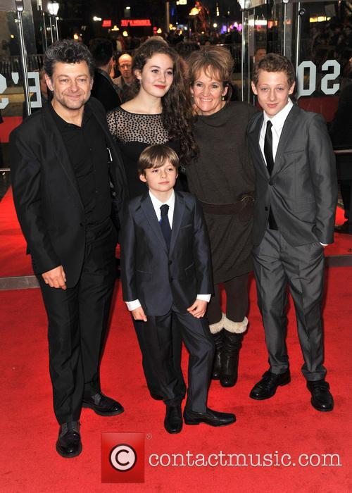 andy serkis family the hunger games catching fire 3949182