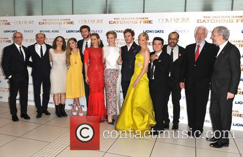 Cast Of Catching Fire 2
