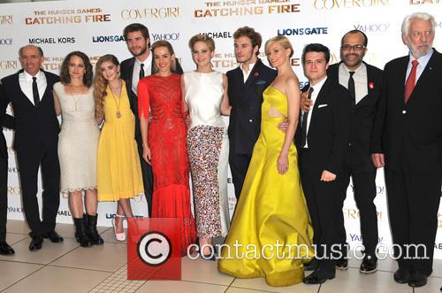 Cast Of Catching Fire 1