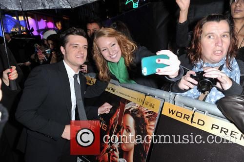 josh hutcherson the hunger games catching fire 3949163