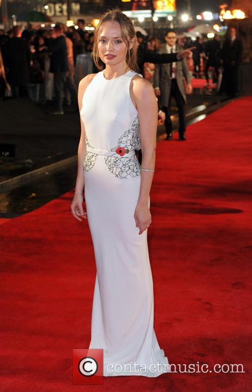 Laura Haddock, Odeon Leicester Square