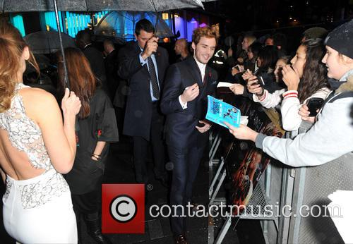 Sam Claflin, Odeon Leicester Square