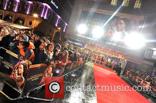 The Hunger Games, Catching Fire and World Premiere 2