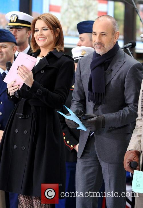Savannah Guthrie and Matt Lauer 2